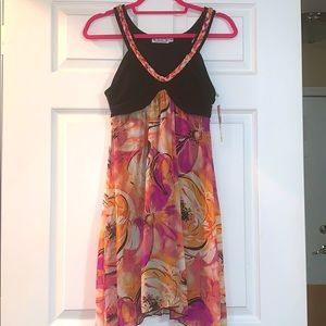 Floral Semi-Formal Dress